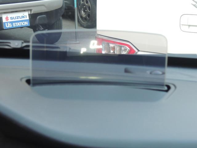 ヘットアップディスプレイが搭載しており、速度がこちらに表示されます!
