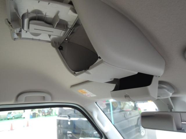 運転席・助手席の頭上に小物入れあります☆