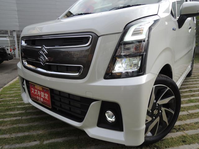 「スズキ」「ワゴンRスティングレー」「コンパクトカー」「奈良県」の中古車16