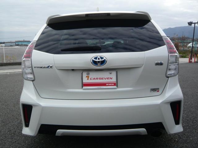 「トヨタ」「プリウスα」「ミニバン・ワンボックス」「奈良県」の中古車8