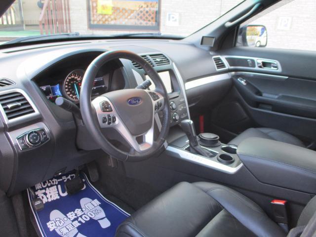フォード フォード エクスプローラー XLT エコブースト エクスクルーシブ 1オーナー 正規D車