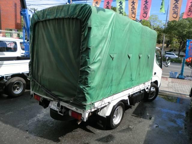 トヨタ ダイナトラック 2t 幌付 低床NOx・PM適合ディーゼル 5速