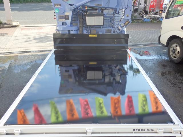 いすゞ エルフトラック 2tNOx適合ディーゼル2.2t吊簡易ユニック4段ラジコン付