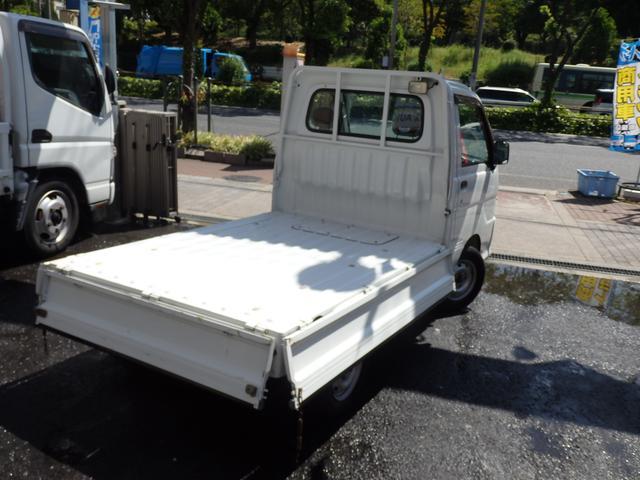ダイハツ ハイゼットトラック エアコン・パワステ 農用スペシャル 4WD 5MT 三方開