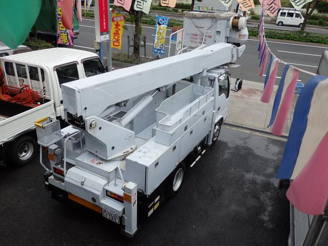 14.6Mアイチ製高所作業車電工仕様 Nox適合ディーゼル(18枚目)