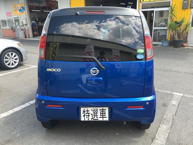 日産 モコ S 社外オーディオ 社外AW ETC リアコーナーセンサー