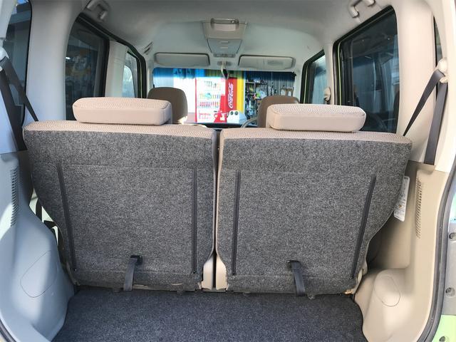 広い収納スペースがございます、後部座席を倒していただくことでお持ちのお荷物をたくさん収納していただくことができます♪