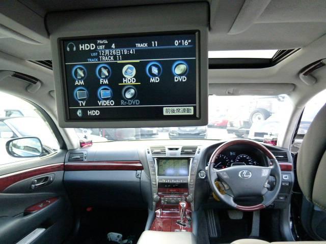 LS600hL後席セパレートシートパッケージ WALDエアロ(16枚目)