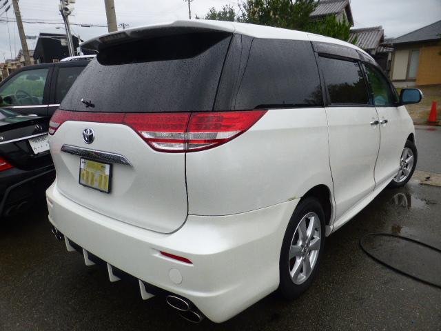 トヨタ エスティマハイブリッド G エアロ 両側電動 HDDナビ地デジ