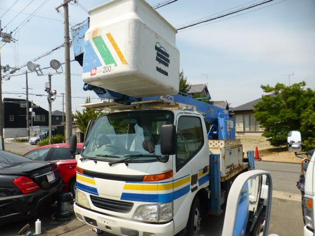 日野 デュトロ 高所作業車 スカイマスター アイチ
