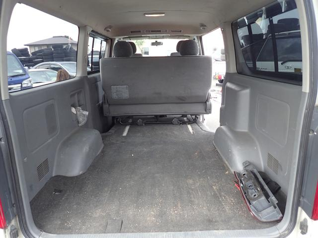 トヨタ ハイエースバン ロングスーパーGL HDD 左右イージークローザー ABS