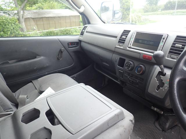 トヨタ レジアスエースバン ロングDX ETC ヘッドライトレベライザ ディーゼルターボ