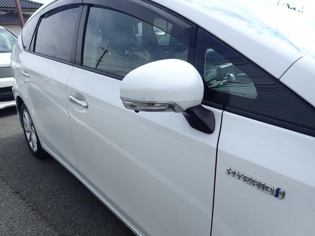 トヨタ プリウスアルファ Sツーリングセレクション エアロ フルセグ LEDヘッド