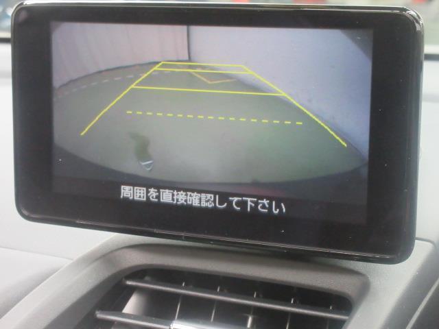 「バックモニター」が、バックでの車庫入れをサポートいたします。