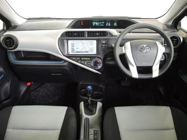 トヨタ アクア S 純正SDナビ ワンオーナー タイヤ4本新品