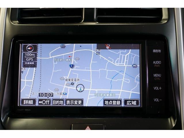 トヨタ純正SDナビ(フルセグテレビ付)を搭載!初めての道や遠出の際も安心&便利です♪