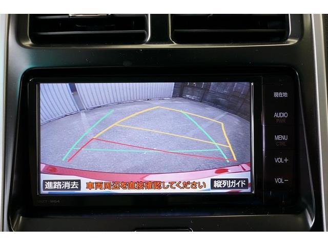 苦手な駐車も安心♪車庫入れや縦列駐車をサポートするバックモニターを装備!目安となるガイド線も表示するので、駐車がもっと快適になります。