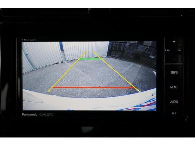 車庫入れなどの後退時に、後方の視界をナビ画面に表示するバックモニターを装備!駐車の目安となるガイド線も表示します☆
