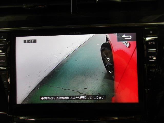 トヨタ プリウスアルファ Sツーリングセレクション・G's メモリーナビ