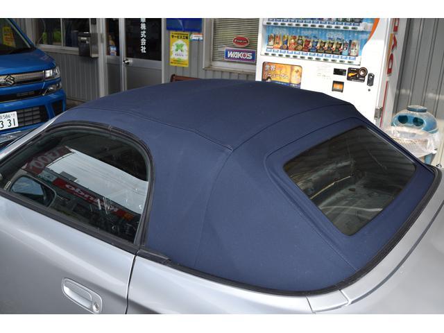 トヨタ MR-S Sエディション 禁煙車 新品幌