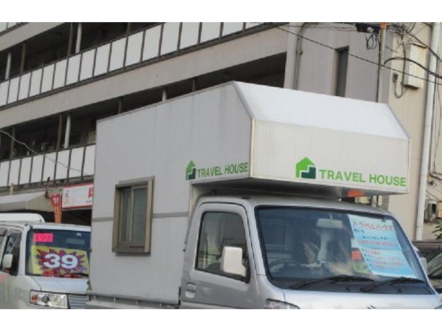 スズキ キャリイトラック KX トラベルハウス積み サブB 走行充電 100V外部電源