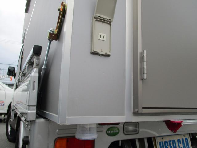スズキ キャリイトラック KC AC PS トラベルハウス サブバッテリー 走行充電
