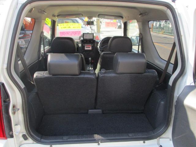 ランドベンチャー パートタイム4WD ターボ ワンセグポータブルナビ ETC 純正16インチアルミ ハーフレザー調シート 背面タイヤハードカバー キーレス フォグランプ(7枚目)