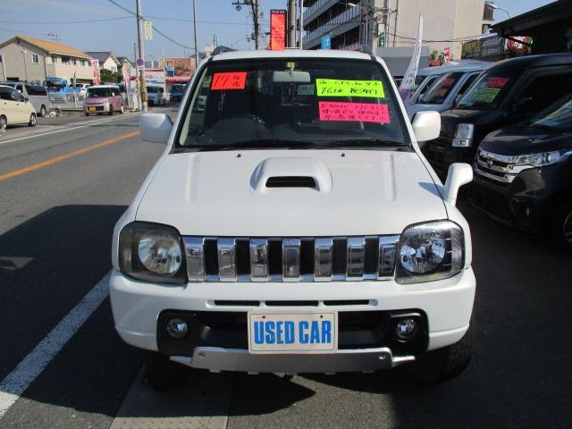 ランドベンチャー パートタイム4WD ターボ ワンセグポータブルナビ ETC 純正16インチアルミ ハーフレザー調シート 背面タイヤハードカバー キーレス フォグランプ(13枚目)