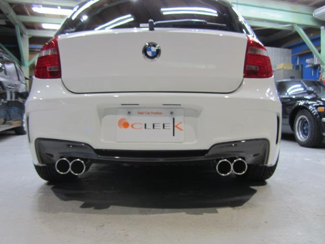 BMW BMW 116i 1Mタイプエアロ 4本出しマフラー 18インチ