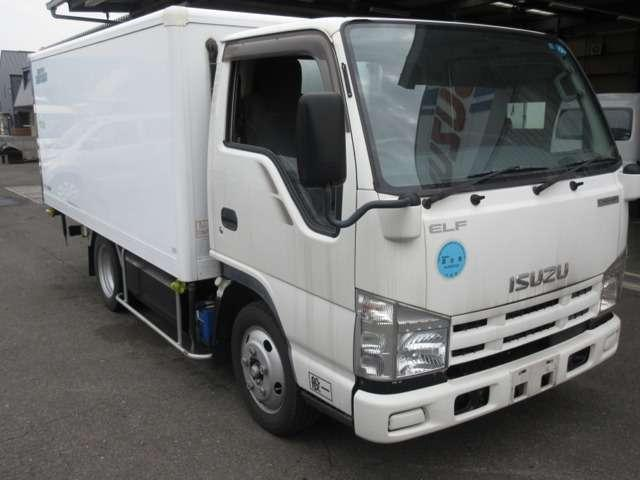 いすゞ エルフトラック 冷凍車 CNG車