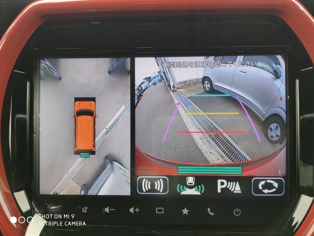 ハイブリッドXターボ 9インチHDディスプレイナビ・全方位モニター用カメラパッケージ・アダプティブクルーズコントロール・スズキセーフティーサポート(11枚目)