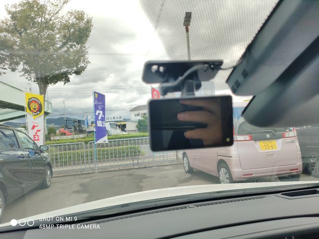 ドライブレコーダー付ですので、万が一の事故時の強い味方です!