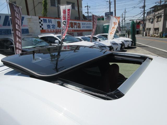 ベースグレード WORK20インチAW bremboブレーキキャリパー TEIN車高調 LEXONエアロ APEXIチタンマフラー 赤革シート デイライトキット リアウイング DSRC BSM カーボン サンルーフ(45枚目)
