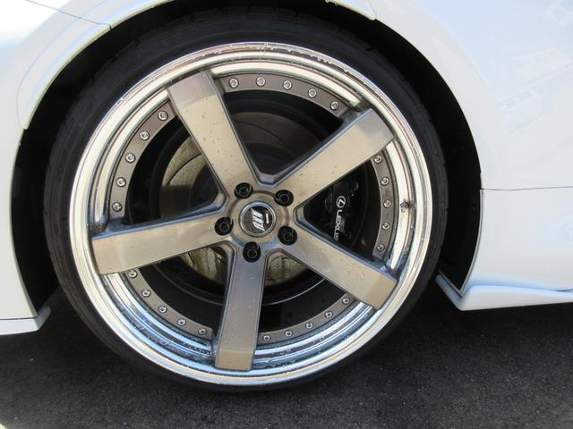 ベースグレード WORK20インチAW bremboブレーキキャリパー TEIN車高調 LEXONエアロ APEXIチタンマフラー 赤革シート デイライトキット リアウイング DSRC BSM カーボン サンルーフ(53枚目)