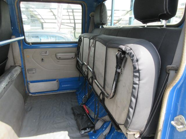 Wキャブ 新品シートカバー 一年保証 5速マニュアル パワステ パワーウィンド エアコン(28枚目)
