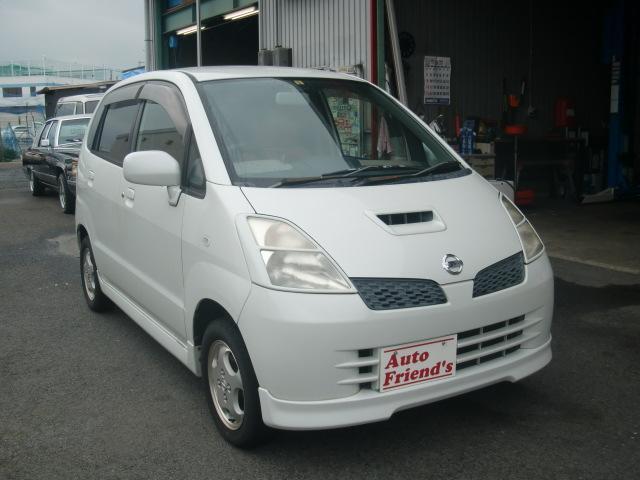 日産 モコ T ICターボエアロ軽自動車安心整備車検2年付総額22万円
