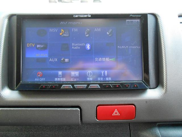 トヨタ ハイエースバン ロングスーパーGL フルセグTV・HDDナビ・ベットキット