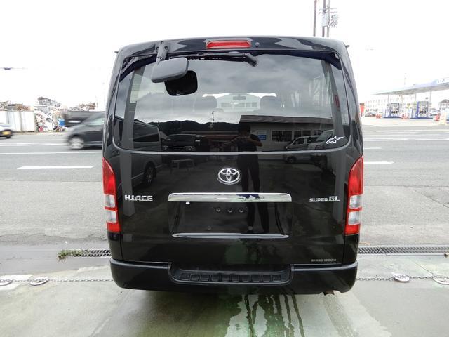 トヨタ ハイエースバン ロングスーパーGL SDナビ・ワンセグTV バックカメラ付き