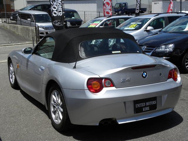 BMW BMW Z4 2.5i 赤レザーシート 電動オープンETC SDナビ地デジ