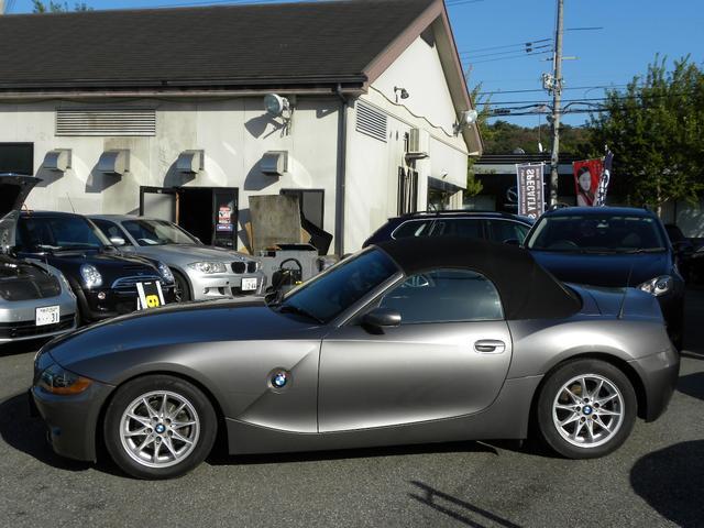 BMW BMW Z4 2.2i HDDナビ地デジフルセグ 電動オープン 取説保証書
