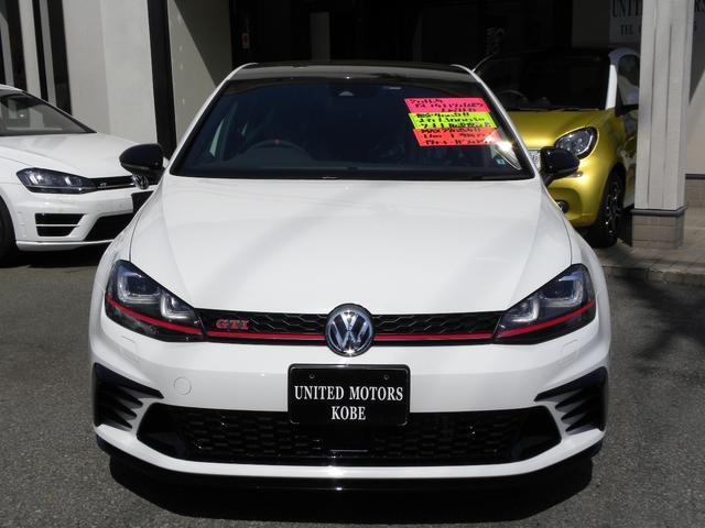 フォルクスワーゲン VW ゴルフGTI クラブスポーツ トラックED 限定車 ワンオーナー レカロ