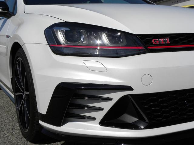 フォルクスワーゲン VW ゴルフGTI クラブスポーツ ストリートED 限定350台 ワンオーナー
