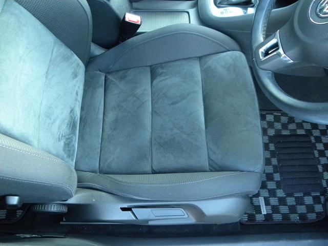 シートの程度も良好です!座面もしっかりしております。ハンドル共々いちばん触れる頻度が高い箇所でもあります。