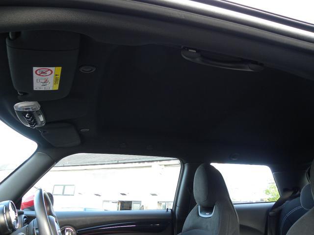 ジョンクーパーワークス JCWフルエアロ 純正HDDナビ クルーズコントロール ポップアップディスプレイ LEDヘッドライト ETC内蔵ミラー ビッグキャリパー 正規ディーラー車 取扱説明書 スペアキー(35枚目)