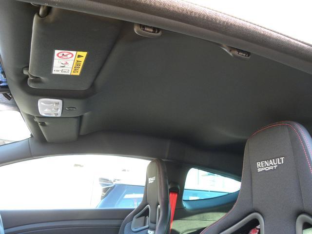 ルノー スポール 273 ファイナルエディション 特別限定車200台 ワンオーナー 有償カラージョンシリウスM 純正レカロシート ブレンボキャリパー HDDナビフルセグTV バックカメラ パークセンサー クルーズコントロール 取説付属品スペアキー(36枚目)