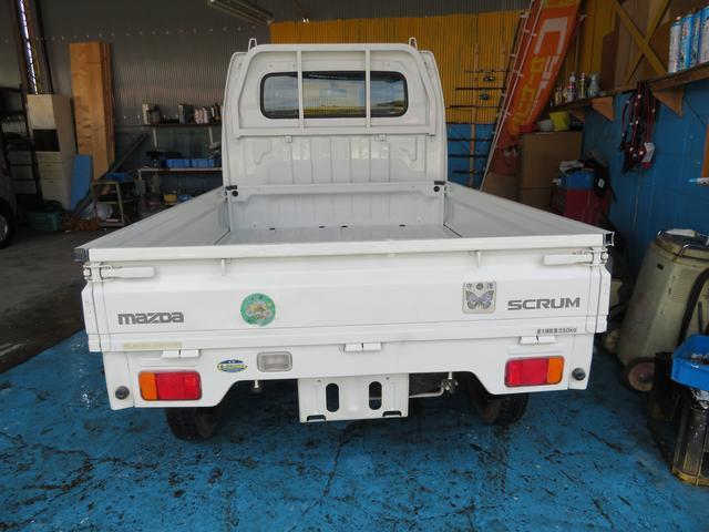 マツダ スクラムトラック KC 5速MT エアコン パワステ Tベルトチェーン式