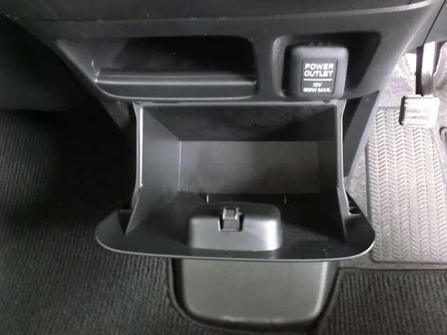 何かと便利なグローブボックス。収納スペースが多く、散らかりやすい小物もスッキリします。