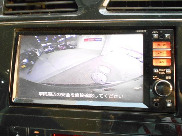 ハイウェイスター Vセレクション  HDDナビ 後席モニター(7枚目)