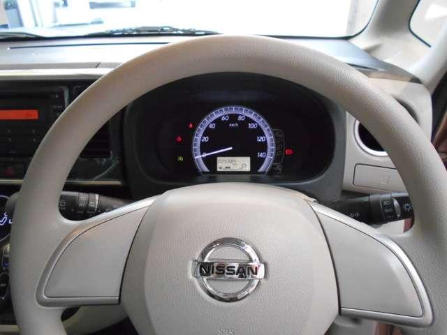 デイズルークスのメーターは可愛らしくスピードメーターのみを採用!見やすく、燃費情報の確認も出来ます。