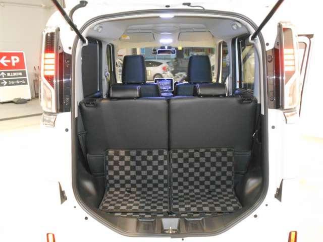 660 カスタム ハイブリッド XS 緊急ブレーキ 踏み間違い防止 DVD再生可能メモリーナビ 全方位カメラ 両側電動スライド LEDライト オートライト シートヒーター エアロ ドラレコ ETC 15インチアルミ(20枚目)
